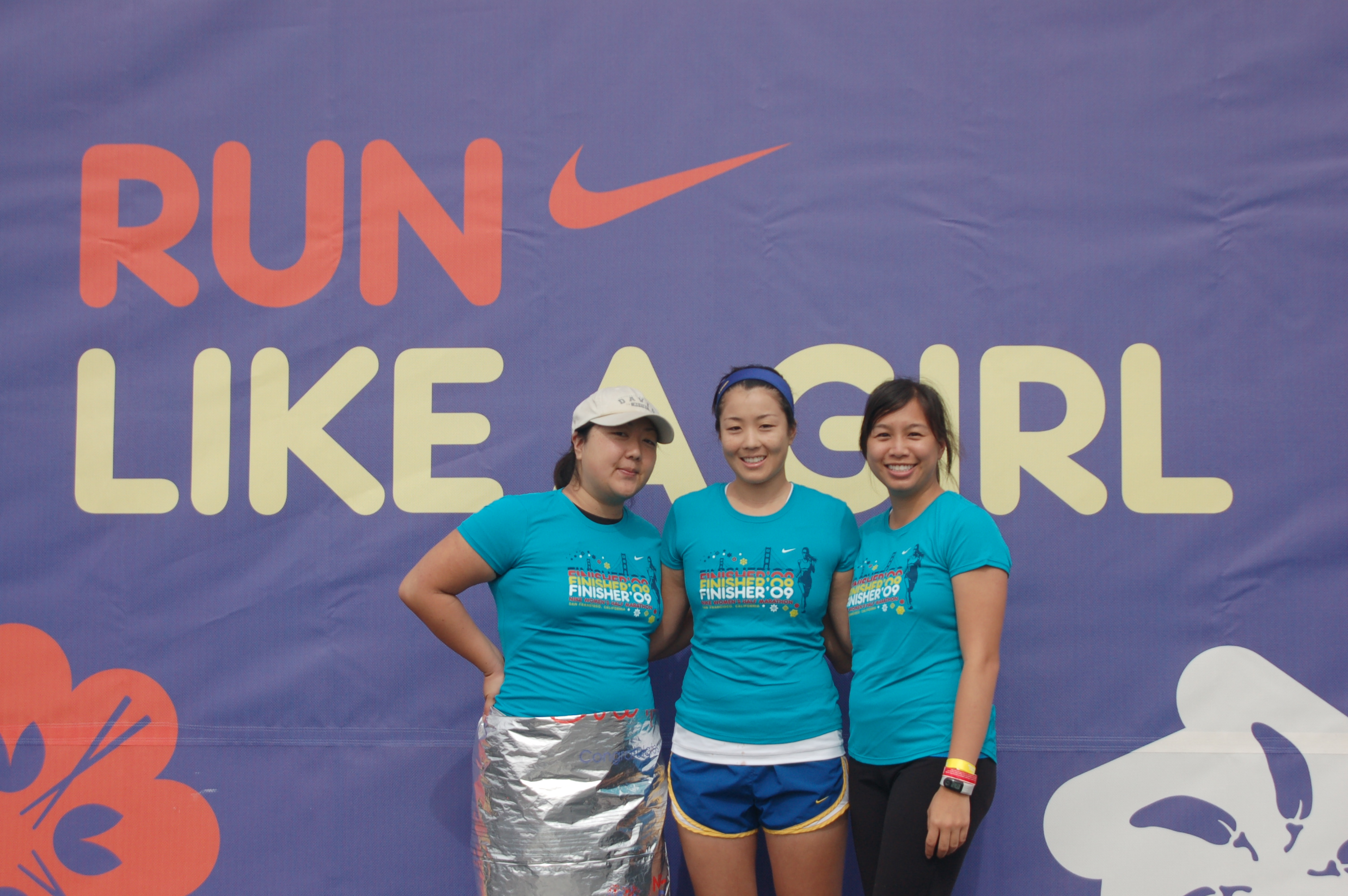 Nike told us to run like a girl.  So we did.
